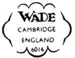 Wade CAMBRIDGE Mark c1950s and c1960s