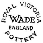 Wade Royal Victoria Pottery Marks c1953