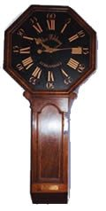 antique marks glossary -  act of parliament clock or tavern clock