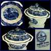 Adams Tureen - Antique English Porcelain