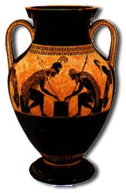 antique marks glossary -  greek amphora