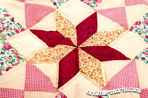 Atique Quilts - Patchwork with Star