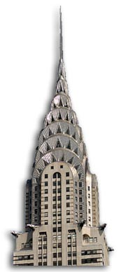 William Van Alen Art Deco Chrysler Building