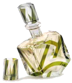 Art Deco Glass Decanter