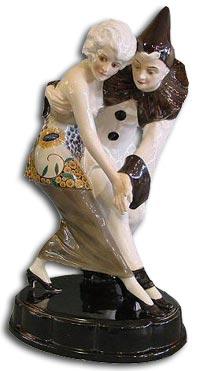 Art Deco Goldscheider Dancing Figure