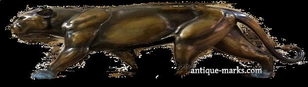 Art Deco Panther Figure