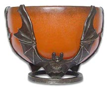 Art Deco Pierre D'avesn three bats bowl