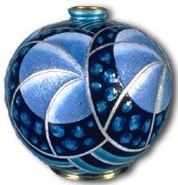 Henriette Marty Limoges Vase