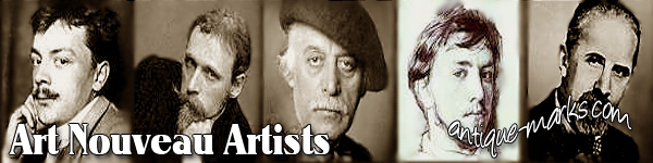 Antique Periods: Art Nouveau Artists and Designers -