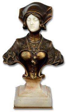 Bronze by Francois Alphonse Piquemal
