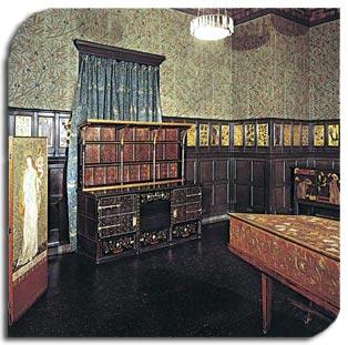 original arts & crafts interior