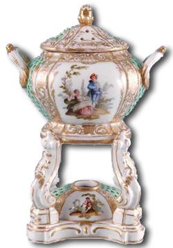 Berlin Porcelain Brule Parfum c1880