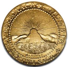 Brasher Doubloon Reverse - 1st American Dollar Gold Coin