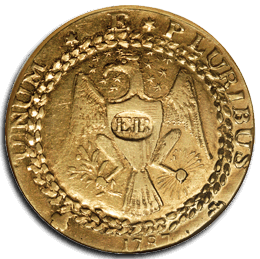 Brasher Doubloon - 1st American Dollar Gold Coin