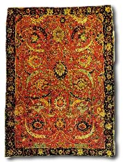 Antique Shah Abbassi Carpet