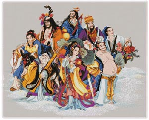 The Eight Immortals - Chinese Gods