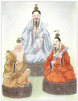 Chinese Gods The Stellar Triad