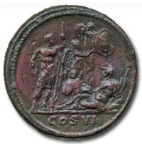 Commodus (AD 177-192), Medallion