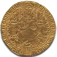 Edward VI  fine gold sovereign