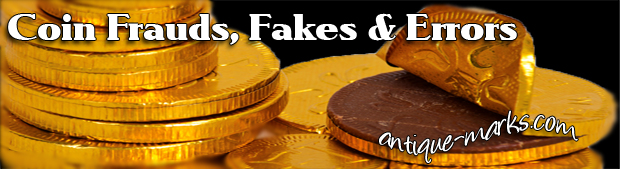 Coin Frauds Fakes and Errors