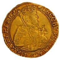 Gold James I Unite c1615