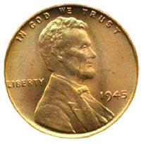 The Lincoln Penny c1945