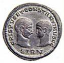 Roman Coin Miliarense