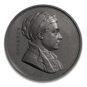 Leonard Charles Wyon medal of william hogarth c1848