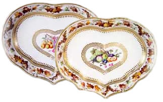 Royal Crown Derby kidney dishes