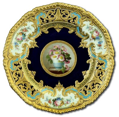 Derby Porcelain Desiree Leroy Plate