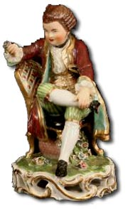 antique derby figure