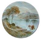 Derby Cuthbert Gresley Landscape Plaque