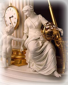 Royal Crown Derby Vulliamy Clock