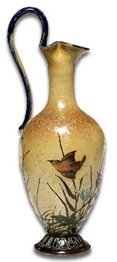 Florence Barlow birds vase