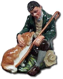 Doulton artist peggy davies - Master figure
