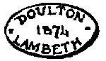 antique marks - Royal Doulton marks