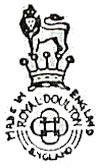Royal Doulton marks 1922-56