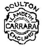 Royal Doulton marks - carrara