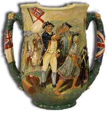 doulton - charles noke captain cook loving cup