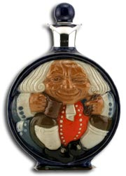 Doultons Harry Simeon Moon Flask
