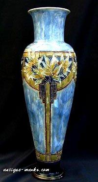 Royal Doulton Vase by Eliza Simmance