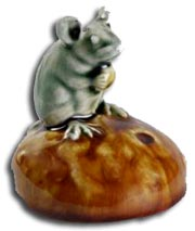 george tinworth mouse on a bun