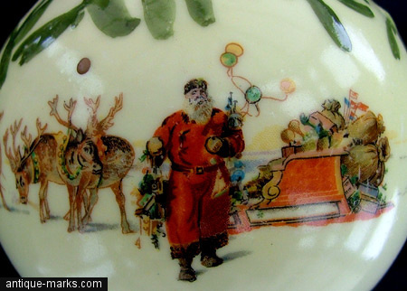 Antiques Collection - Doulton Xmas Decoration