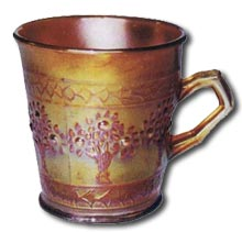 Fenton Art Glass - Orange Tree Tankard