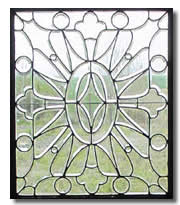 Antique Glass Terms - Glass Bevels - from antique-marks.com