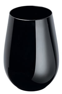 Antique-Marks - Riedel Sommeliers Black Stemless Sauvignon Blanc/Zinfandel/Riesling Wine Tumbler