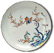 antique marks kakiemon plate