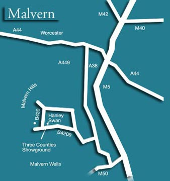 Antiques and collectors fairs  Malvern