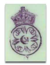 Royal Worcester Marks - 1887 Y