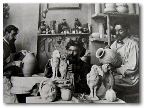 The Martin Brothers Pottery